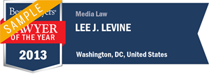 Lee J. Levine has earned a Lawyer of the Year award for 2013!