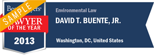 David T. Buente, Jr. has earned a Lawyer of the Year award for 2013!