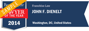 John F. Dienelt has earned a Lawyer of the Year award for 2014!