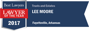 James Lee Moore III has earned a Lawyer of the Year award for 2017!