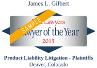 James Gilbert Best Lawyer 2015