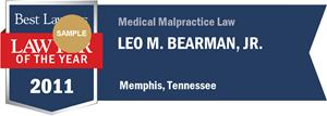 Leo M. Bearman, Jr. has earned a Lawyer of the Year award for 2011!