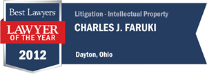 Charles J. Faruki has earned a Lawyer of the Year award for 2012!