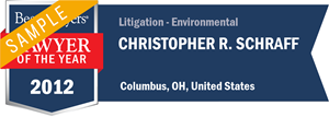 Christopher R. Schraff has earned a Lawyer of the Year award for 2012!