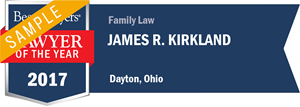 James R. Kirkland has earned a Lawyer of the Year award for 2017!
