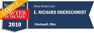 E. Richard Oberschmidt has earned a Lawyer of the Year award for 2010!