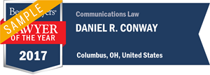 Daniel R. Conway has earned a Lawyer of the Year award for 2017!