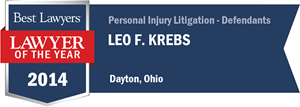 Leo F. Krebs has earned a Lawyer of the Year award for 2014!