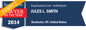 Jules L. Smith has earned a Lawyer of the Year award for 2014!