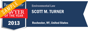 Scott M. Turner has earned a Lawyer of the Year award for 2013!