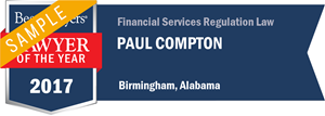 Paul Compton has earned a Lawyer of the Year award for 2017!