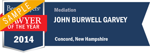 John Burwell Garvey has earned a Lawyer of the Year award for 2014!