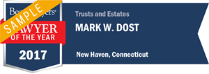 Mark W. Dost has earned a Lawyer of the Year award for 2017!