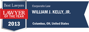 William J. Kelly, Jr. has earned a Lawyer of the Year award for 2013!