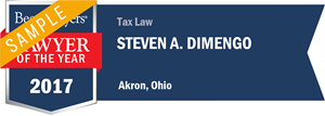 Steven A. Dimengo has earned a Lawyer of the Year award for 2017!