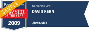 David Kern has earned a Lawyer of the Year award for 2009!