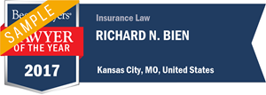 Richard N. Bien has earned a Lawyer of the Year award for 2017!