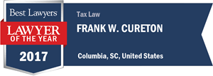 Frank W. Cureton has earned a Lawyer of the Year award for 2017!
