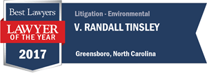 V. Randall Tinsley has earned a Lawyer of the Year award for 2017!