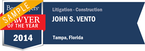 John S. Vento has earned a Lawyer of the Year award for 2014!