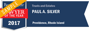Paul A. Silver has earned a Lawyer of the Year award for 2017!