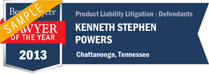 K. Stephen Powers has earned a Lawyer of the Year award for 2013!