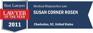 Susan Corner Rosen has earned a Lawyer of the Year award for 2011!