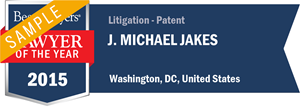 J. Michael Jakes has earned a Lawyer of the Year award for 2015!