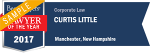 Curtis Little has earned a Lawyer of the Year award for 2017!