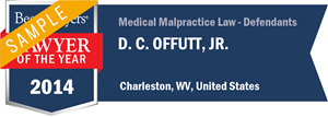 D. C. Offutt, Jr. has earned a Lawyer of the Year award for 2014!