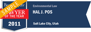 Hal J. Pos has earned a Lawyer of the Year award for 2011!