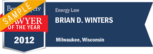 Brian D. Winters has earned a Lawyer of the Year award for 2012!