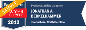 Jonathan A. Berkelhammer has earned a Lawyer of the Year award for 2012!