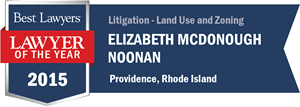 Elizabeth McDonough Noonan has earned a Lawyer of the Year award for 2015!