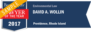 David A. Wollin has earned a Lawyer of the Year award for 2017!