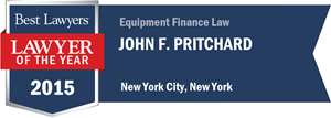 John F. Pritchard has earned a Lawyer of the Year award for 2015!