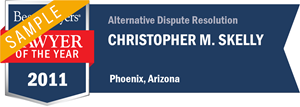 Christopher M. Skelly has earned a Lawyer of the Year award for 2011!