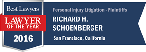 Richard H. Schoenberger has earned a Lawyer of the Year award for 2016!