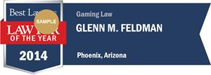Glenn M. Feldman has earned a Lawyer of the Year award for 2014!