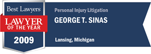 George T. Sinas has earned a Lawyer of the Year award for 2009!