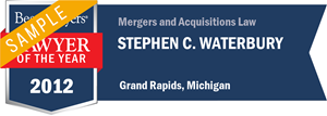 Stephen C. Waterbury has earned a Lawyer of the Year award for 2012!