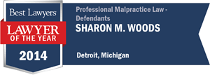 Sharon M. Woods has earned a Lawyer of the Year award for 2014!