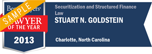 Stuart N. Goldstein has earned a Lawyer of the Year award for 2013!