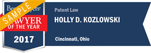 Holly D. Kozlowski has earned a Lawyer of the Year award for 2017!
