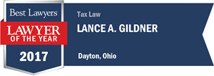 Lance A. Gildner has earned a Lawyer of the Year award for 2017!