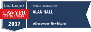 Alan Hall has earned a Lawyer of the Year award for 2017!
