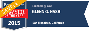 Glenn G. Nash has earned a Lawyer of the Year award for 2015!