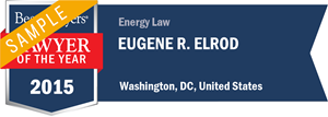 Eugene R. Elrod has earned a Lawyer of the Year award for 2015!