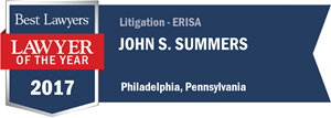 John S. Summers has earned a Lawyer of the Year award for 2017!
