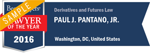 Paul J. Pantano, Jr. has earned a Lawyer of the Year award for 2016!